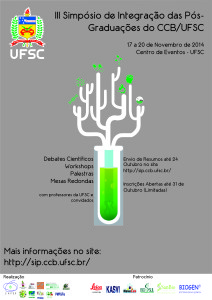 III Simpósio de Integração das Pós-Graduações do CCB-UFSC